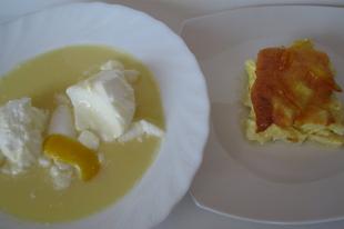 Könnyed nyári ebéd: Citromkrémleves édes tojásfehérje habbal, stíriai metélt, ahogy a nagymamám tanította