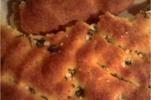 Focaccia castagna - kenyérlepény gesztenyeliszttel