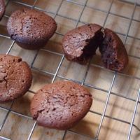 Brownie falatok sós karamellel