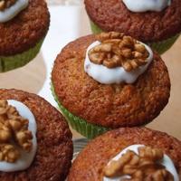 Húsvéti almás répás muffin