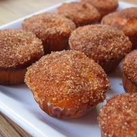 Sütőtökös muffin fahéjas tetővel