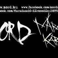 ZORD & MARADANDÓ KÁROSODÁS - Koncert a hatvani Retróban