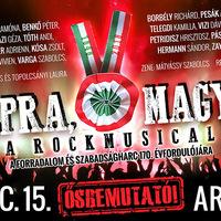 TALPRA MAGYAR! - Rockmusical ősbemutató az Arénában
