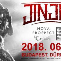JINJER - Egy hét múlva Budapesten!