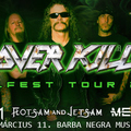 KILLFEST 2019 - Overkill, Destruction és Flotsam and Jetsam