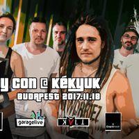 COPY CON - November 18-án Budapesten a hazai reggae kedvenc!