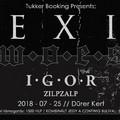 DÜRER KERT - Hexis, Woes, Igor és Zilpzalp koncert