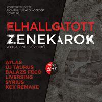 ELHALLGATOTT ZENEKAROK - Koncertfelvétel és dokumentumfilm a '60-as, '70-es évek legendás zenekarairól