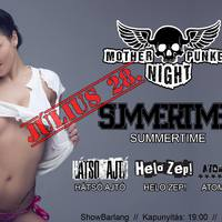 MOTHER PUNKERS NIGHT – Summertime és barátai a Showbarlangban