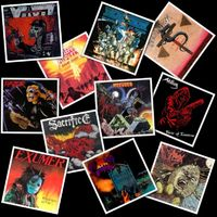 TOP10 - A '80-as évek kult thrash metal albumai