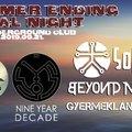 SUMMER ENDING METAL NIGHT - Szombaton a budapesti S8-ban