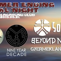 SUMMER ENDING METAL NIGHT - Szombaton a budapesti S8-ban