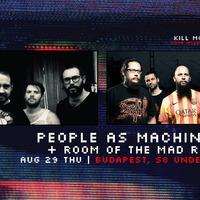 PEOPLE AS MACHINES - Progresszív metal Budapesten