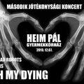 Metal jótékonykodás Budapesten a Heim Pál javára szombaton