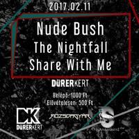 NUDE BUSH - Lemezbemutató szombaton a Dürerben