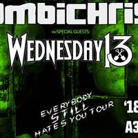 A38 HAJÓ - Wednesday 13 és Combichrist közös koncert