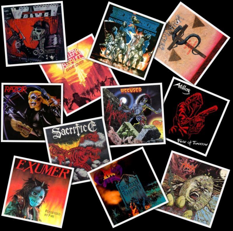 A '80-as évek kult thrash metal albumai