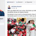 Megható poszttal búcsúzott Michelisz Norbi a Hondától