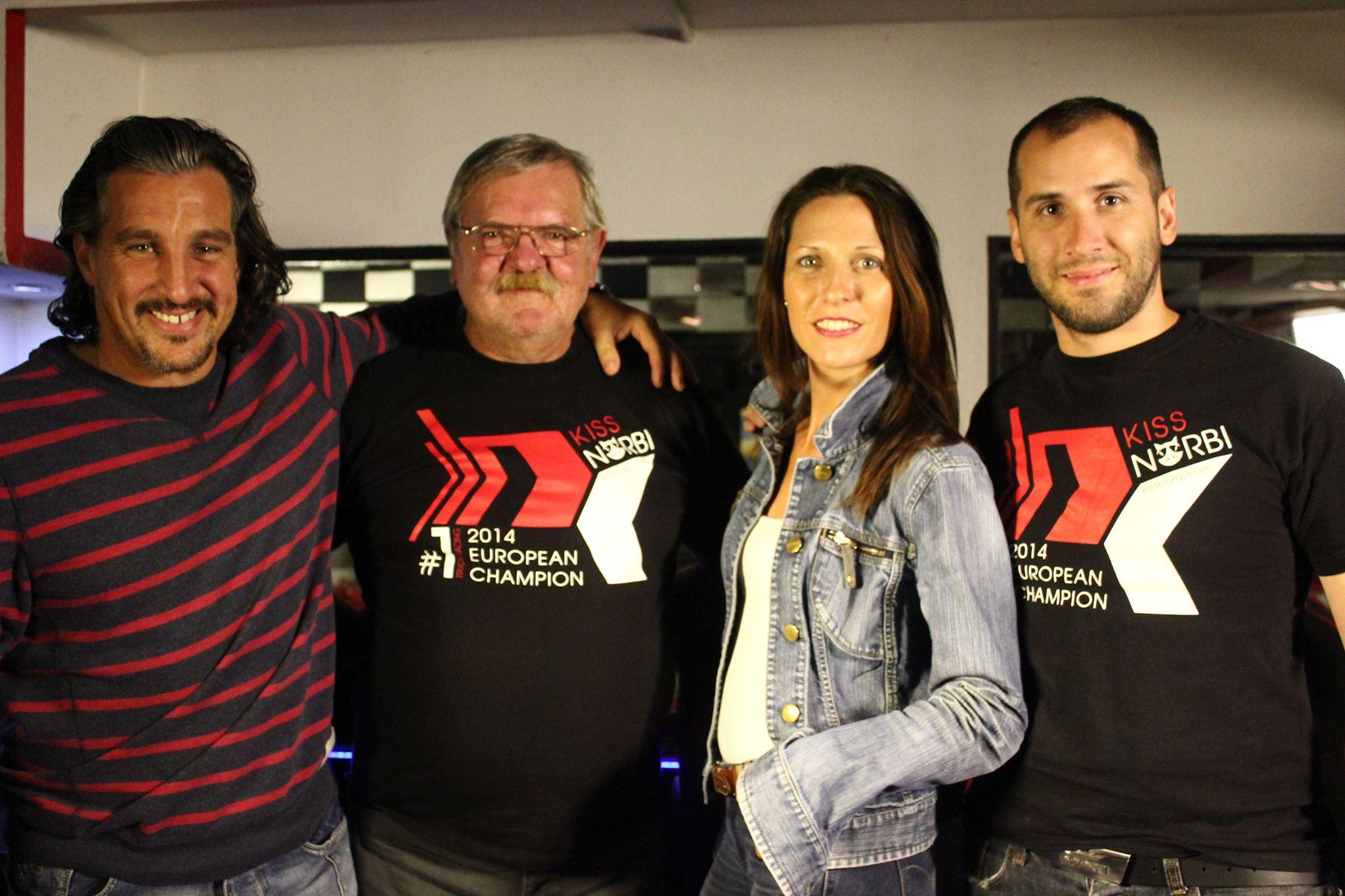 Gokartoztunk Krasznai Jánossal (1966 - 2006) az első magyar kamionversenyzővel és Kiss Norbi Európa Bajnokkal