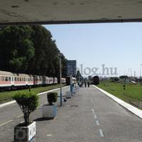 Albánia vasútja