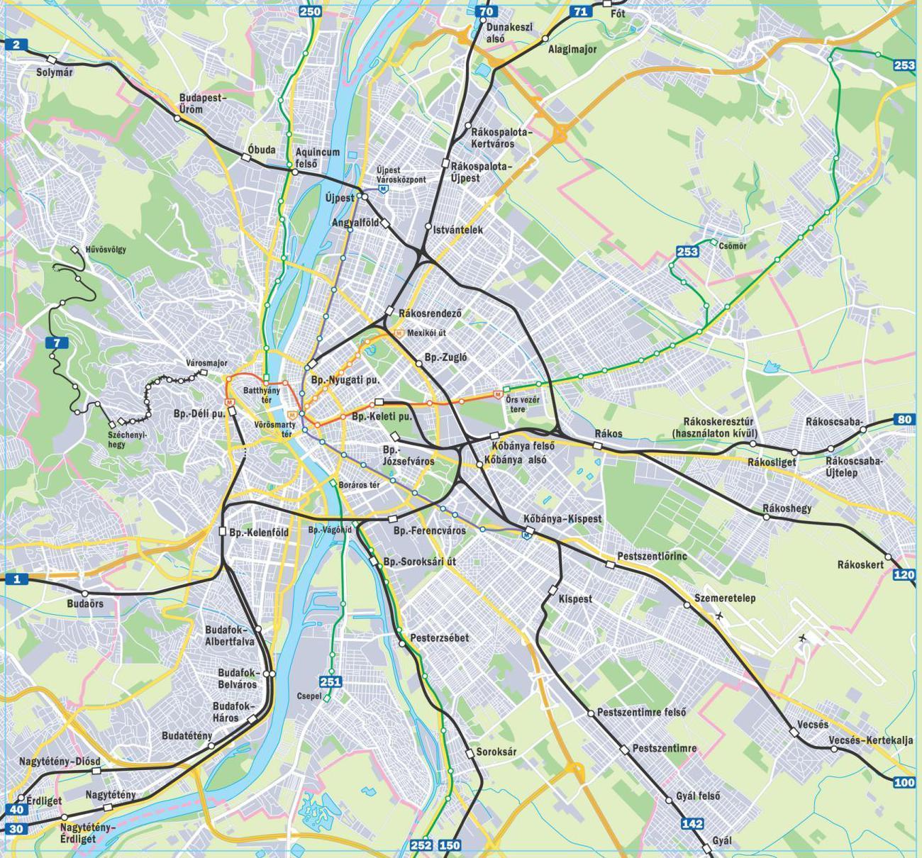 budapest térkép metróvonalak Kell e egyáltalán Budapestre metró?   A marsrutkáktól a plackartig budapest térkép metróvonalak