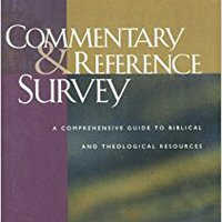 ??UPD?? Commentary And Reference Survey: A Comprehensive Guide To Biblical And Theological Resources. mampara Elige vessel Drive producto Cavani