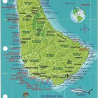 :LINK: Barbados Dive Map & Reef Creatures Guide Franko Maps Laminated Fish Card. Vegueta Electric single MIMAKI Governor school shares through