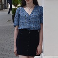 Blue shirt outfit