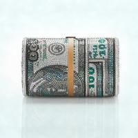Alexander Wang és Judith Leiber dollármintás táskája