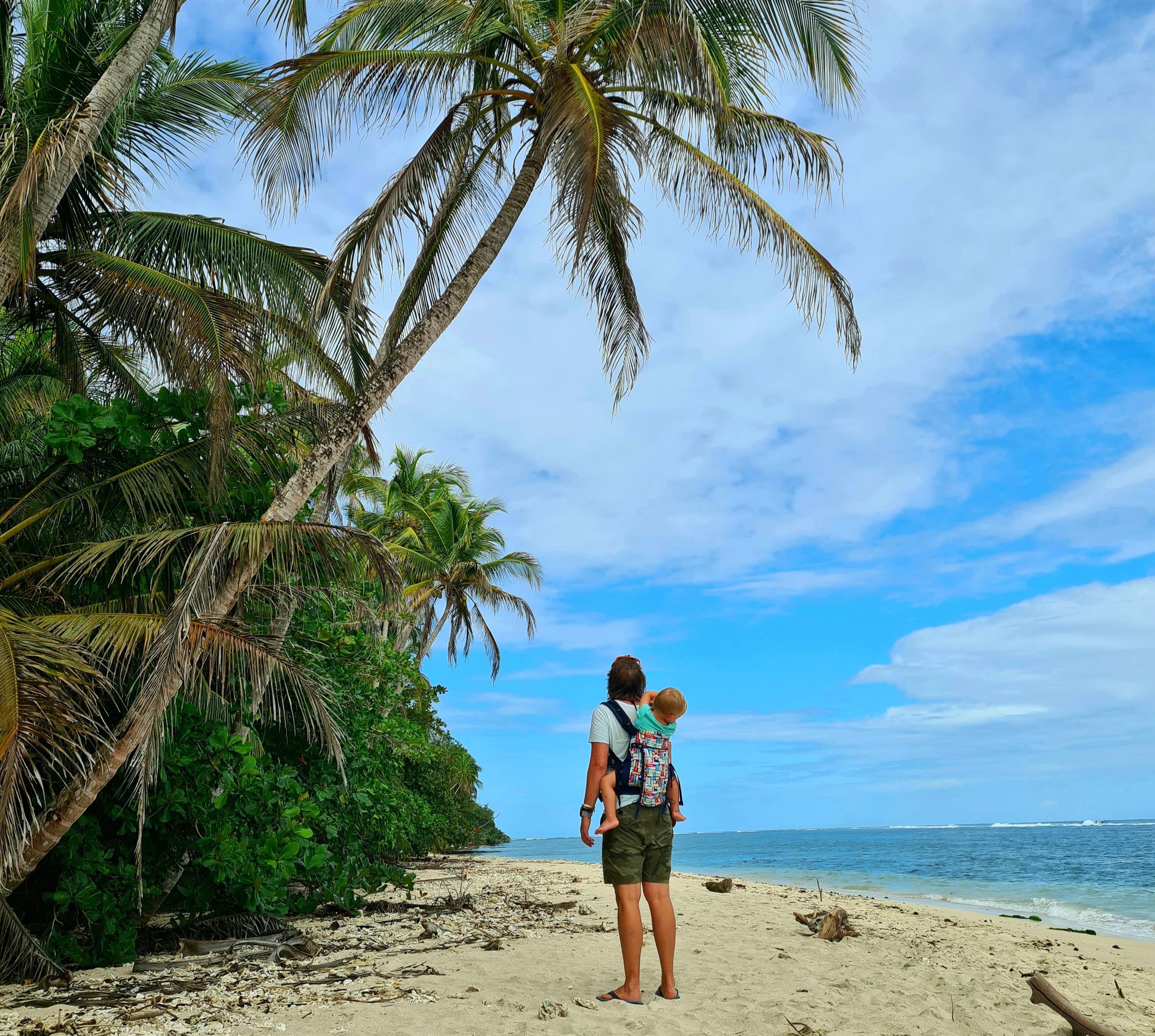 Hátizsákos karibi kalandozások egy kétévessel