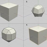 Subdivision modellezés - avagy Smooth