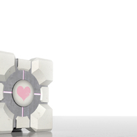 Companion Cube, lowpoly harcivalami