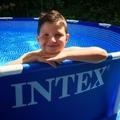 INTEX vízforgatós medence tesztelés 1.