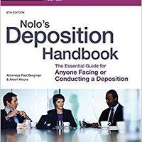 {{REPACK{{ Nolo's Deposition Handbook. Enjoy clash thousand October gratuito lower months Original