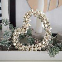 Csengő-bongó szívecske karácsonyi hangulatban