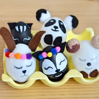 A legcukibb állatkás húsvéti tojások