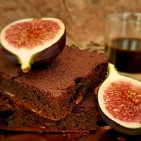 Csoki+füge = isteni Brownie. Fogadunk?