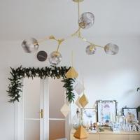 DIY geometrikus papírfüggeszték karácsonyra
