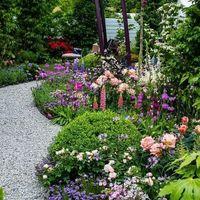 Inspiráló buja kertek