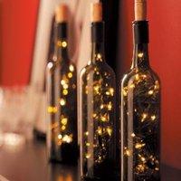 Mai kis egyszerű: karácsonyi dekoráció borosüvegben