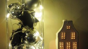 DIY egyszerű karácsonyi dekoráció