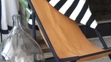 IKEA hack ötletek: unalmas napozószék új ruhája