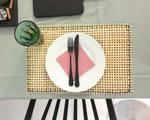 Csináld magad: rattan tányéralátét