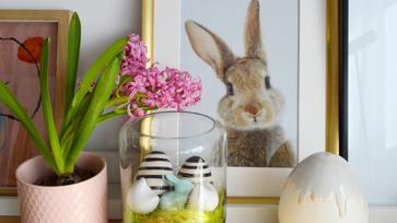 Üvegbe zárt húsvét