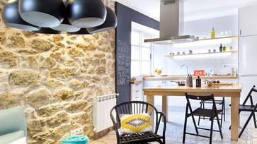 Fiatalos, kiadásra szánt spanyol lakás