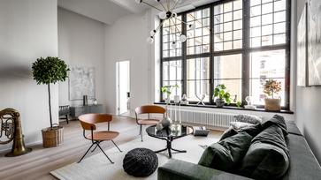 Egykori sörfőzdéből kialakított, lenyűgöző stockholmi lakás