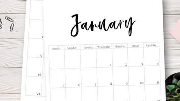 Ingyenesen letölthető 2020-as naptárak