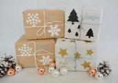 Egyszerű és különleges karácsonyi csomagolás