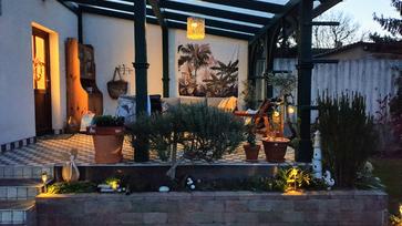 Csináld magad napelemes kerti lámpa rattanból