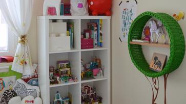Gyerekszoba update: Ikea Kallax mini hack